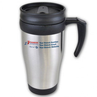 Metal Travel Mug 400ml